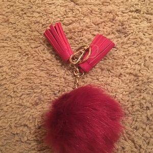 Pom Pom key chain